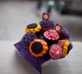 Cupcakes in Bouquet Arrangement
